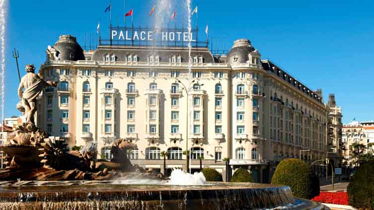 Madrid:The Westin Palace