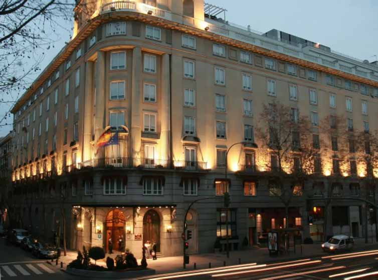 Madrid:Hotel Wellington