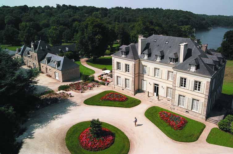 Hennebont:Chateau de Locguenole