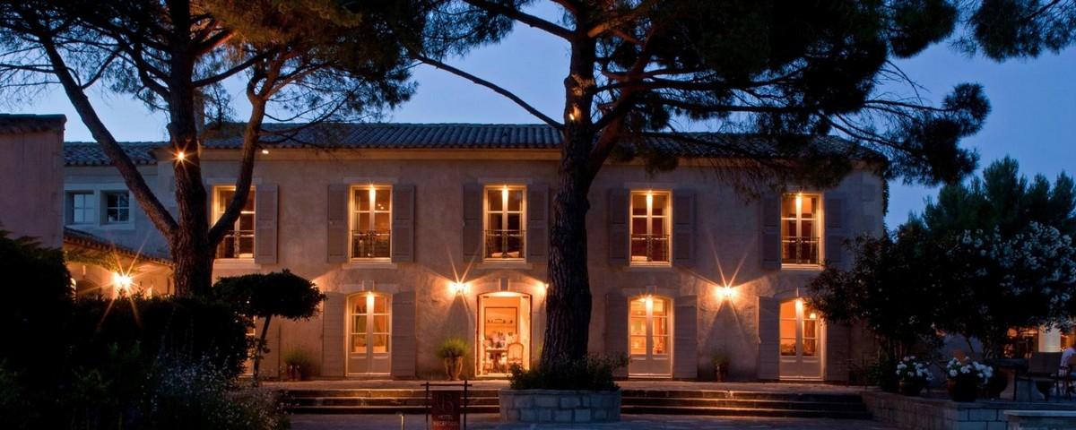 Les Baux de Provence:Benvengudo Hotel