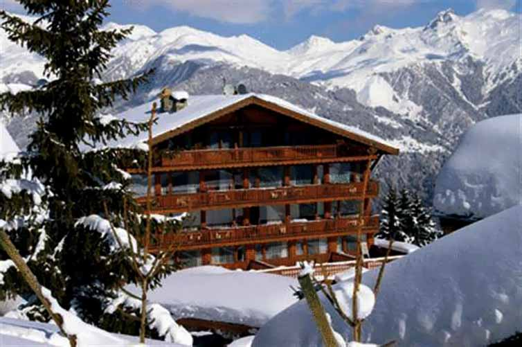 Courchevel:Hotel Le Bellecote