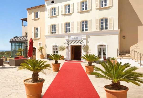 Saint Cyr sur Mer:Hotel Dolce Frégate