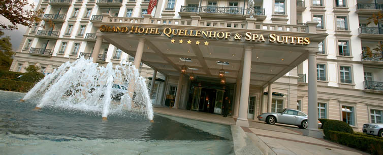 Bad Ragaz:Grand Hotel Quellenhof & Spa Suites