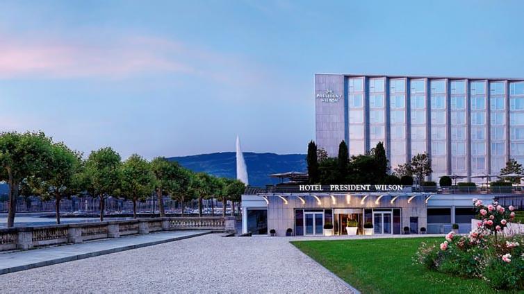 Geneva:Hotel President Wilson