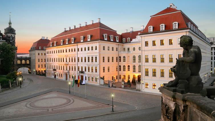 Dresden:Hotel Taschenbergpalais Kempinski