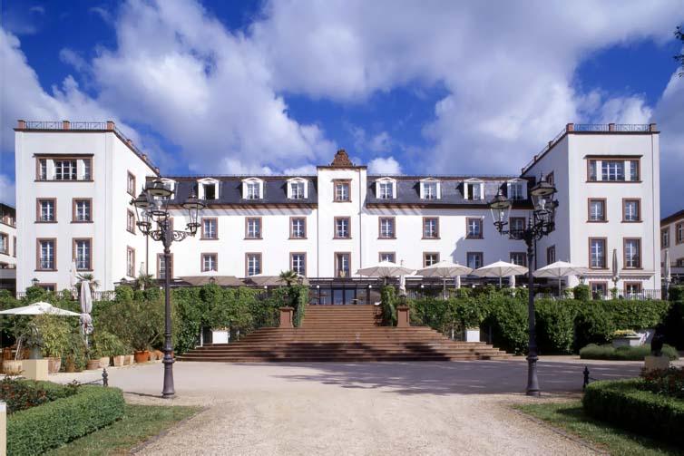 Frankfurt:Schloss Reinhartshausen Kempinski