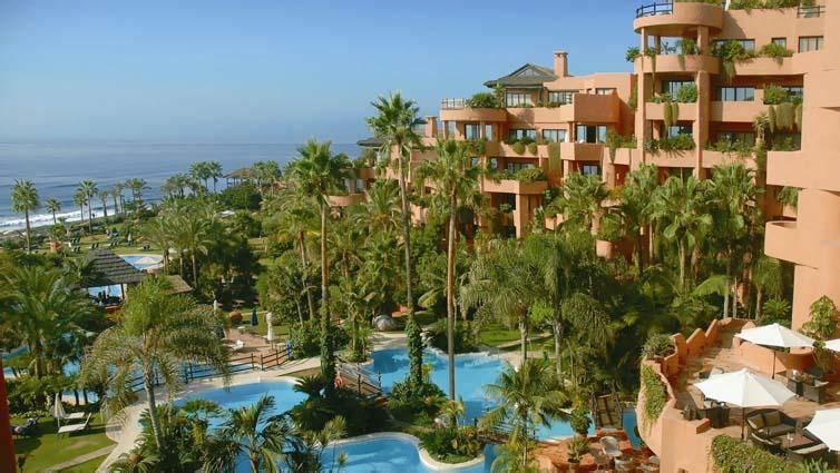 Estepona:Kempinski Hotel Bahía