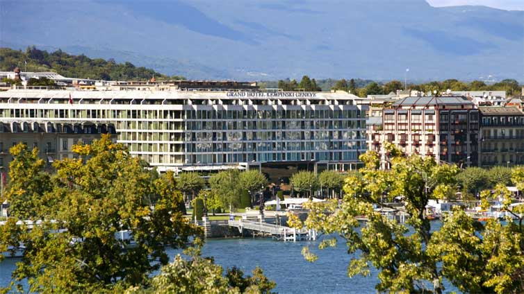 Geneva:Grand Hotel Kempinski Geneva