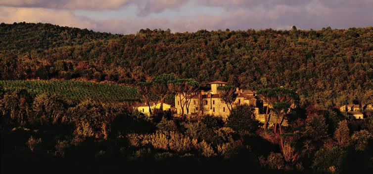 Castelnuovo Berardenga (Siena):Castel Monastero