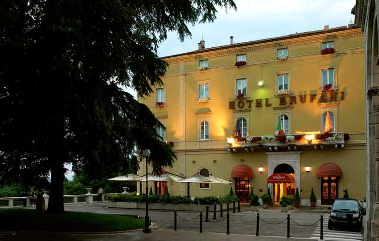 Perugia:Brufani Palace Hotel