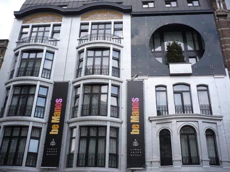 Brussels:Be Manos Hotel