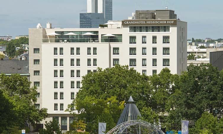 Frankfurt:Grandhotel Hessischer Hof