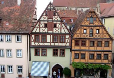 Rothenburg:Hotel Gotisches Haus