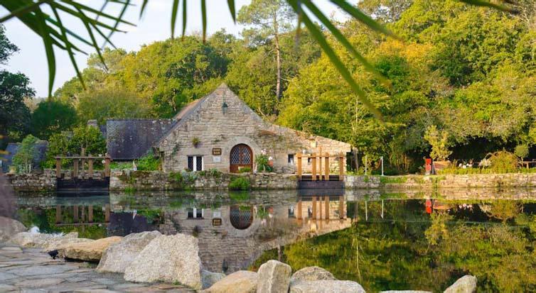 Moëlan-sur-Mer:Les Moulins du Duc