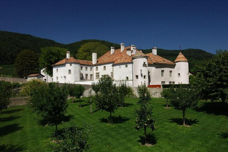 Bursins:Château Le Rosey