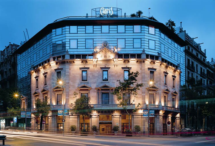 Barcelona:Hotel Claris