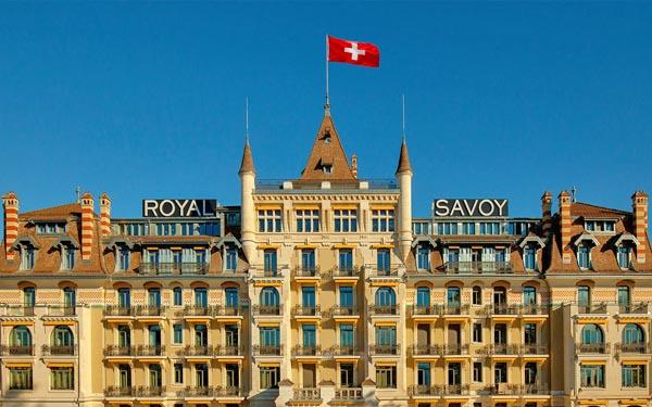 Lausanne:Hotel Royal Savoy Lausanne