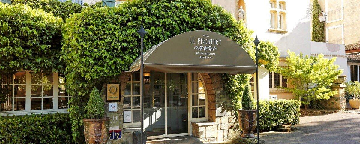 Aix en Provence:Hotel Le Pigonnet
