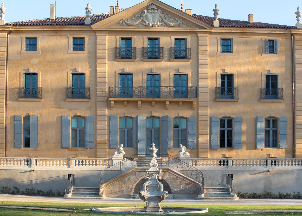 Le Puy-Sainte-Réparade:Chateau de Fonscolombe