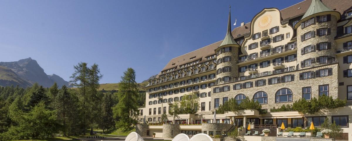 Saint Moritz:Hotel Suvretta House St. Moritz