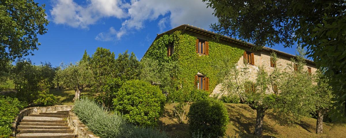 Colle San Paolo-Panicale (Perugia - 26 km):Villa Monte Solare