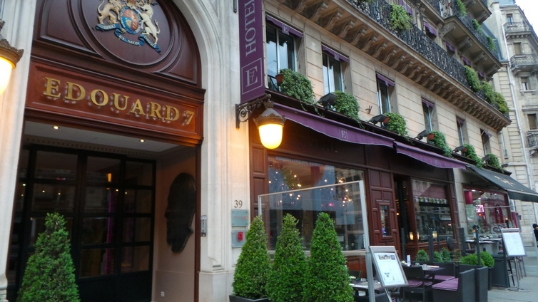 Hotel edouard 7 paris france updated 2019 official website for Hotel design paris 7