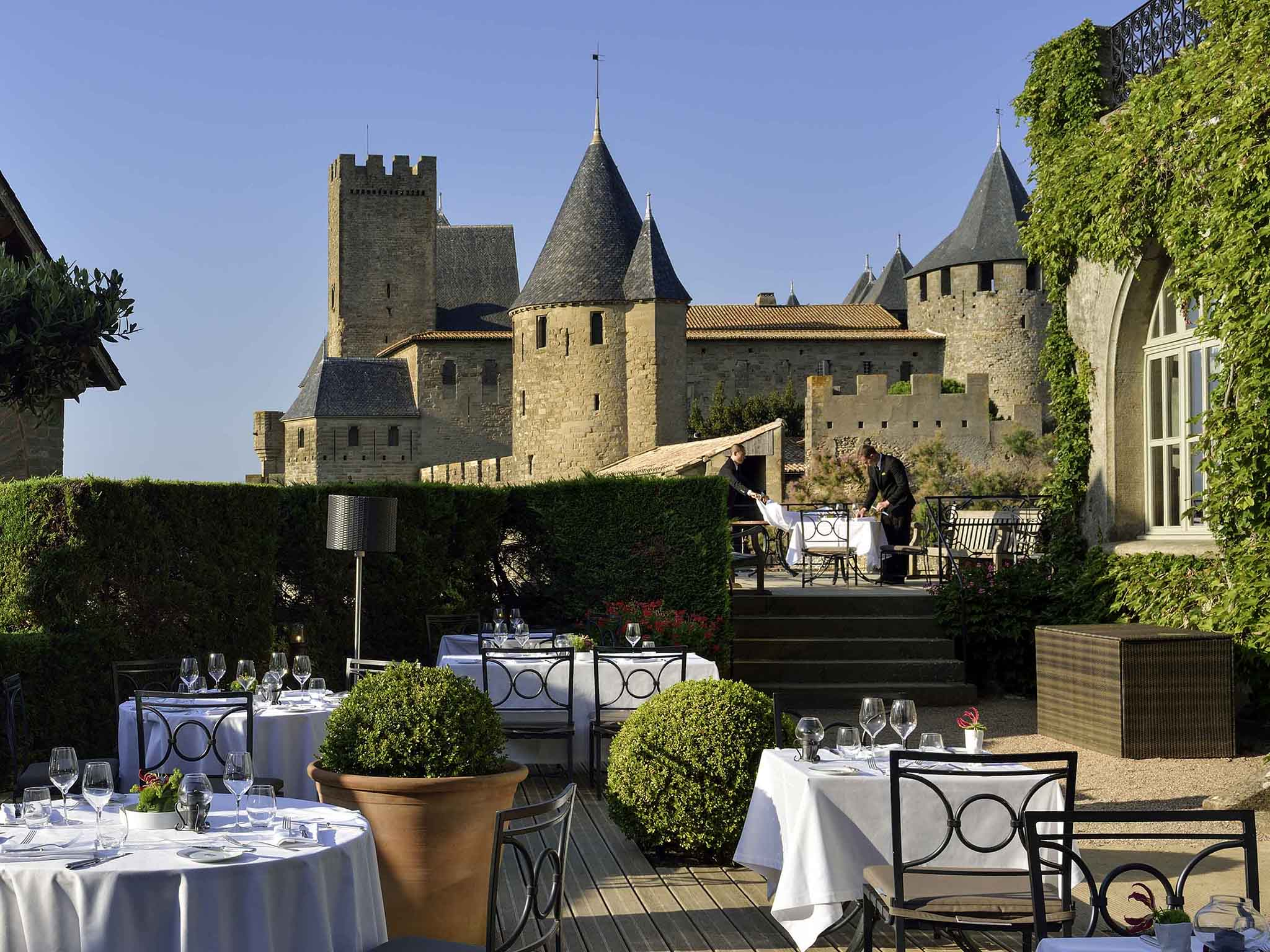 Carcassonne:Hotel de la Cite