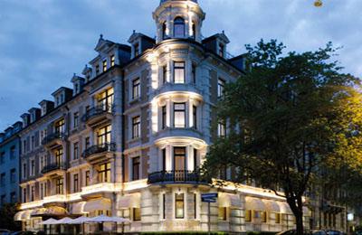 Zurich:Alden Hotel Splugenschloss