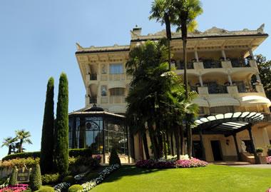 Stresa:Villa e Palazzo Aminta