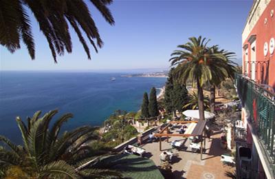 Taormina:Hotel Villa Schuler