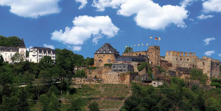 Schloss rheinfels hotel st goar rheinland pfalz germany Designhotel rheinland pfalz