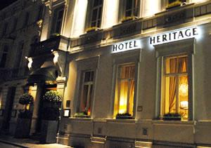 Bruges:Hotel Heritage