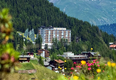 Arosa:Tschuggen Grand Hotel