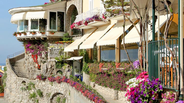 Positano:Hotel Covo dei Saraceni