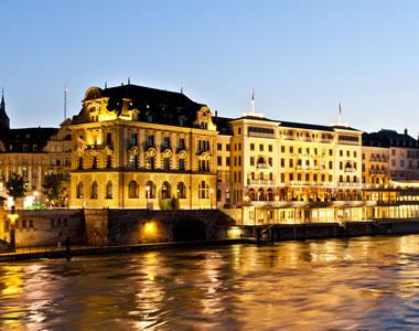 Basel:Grand Hotel Les Trois Rois