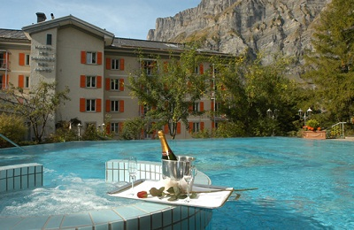 Leukerbad:Les Sources des Alpes Hotel & Spa