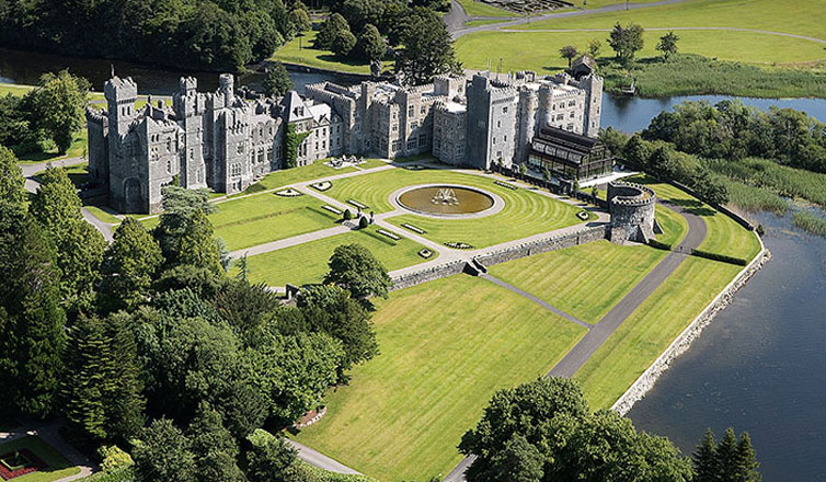 Cong (Galway and Mayo counties):Ashford Castle Hotel