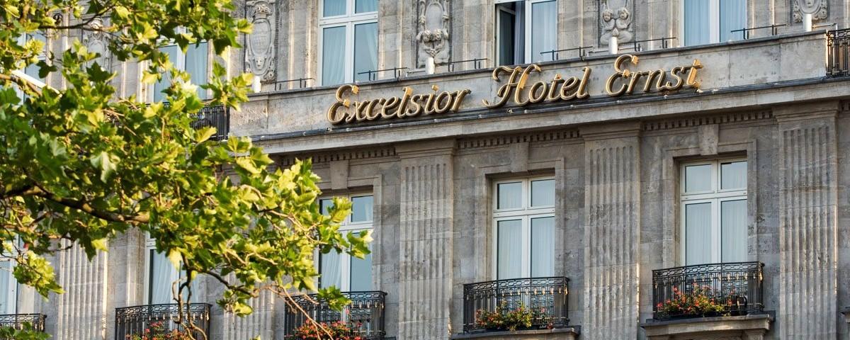 Cologne:Excelsior Hotel Ernst