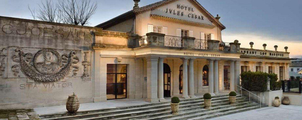 Arles:Hotel Jules Cesar