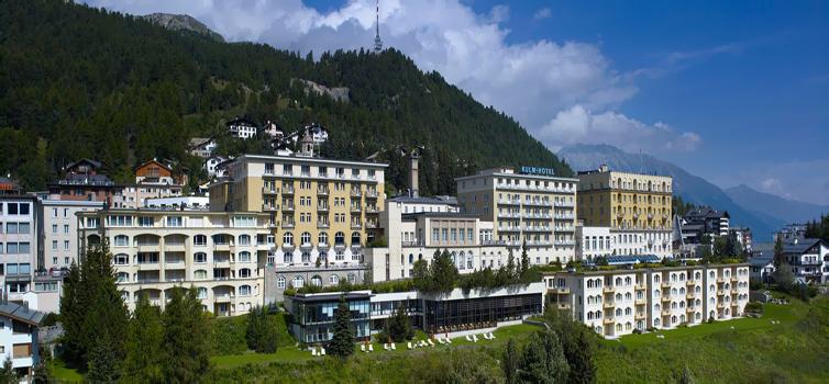 Saint Moritz:Kulm Hotel St. Moritz