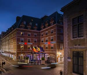 Brussels:Hotel Amigo