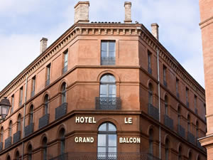 Toulouse:Le Grand Balcon Hotel