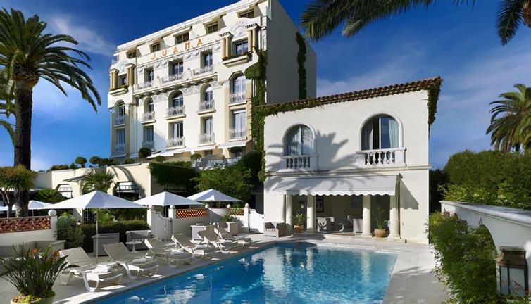 Juan-Les-Pins:Hotel Juana