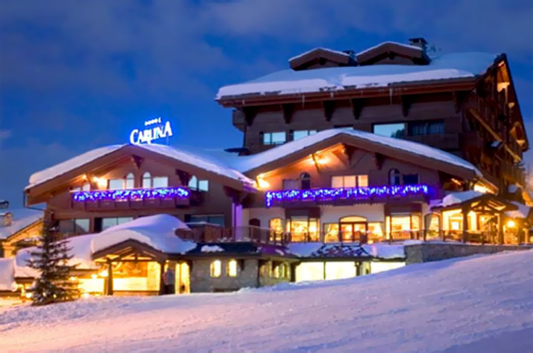 Courchevel:Hotel Carlina