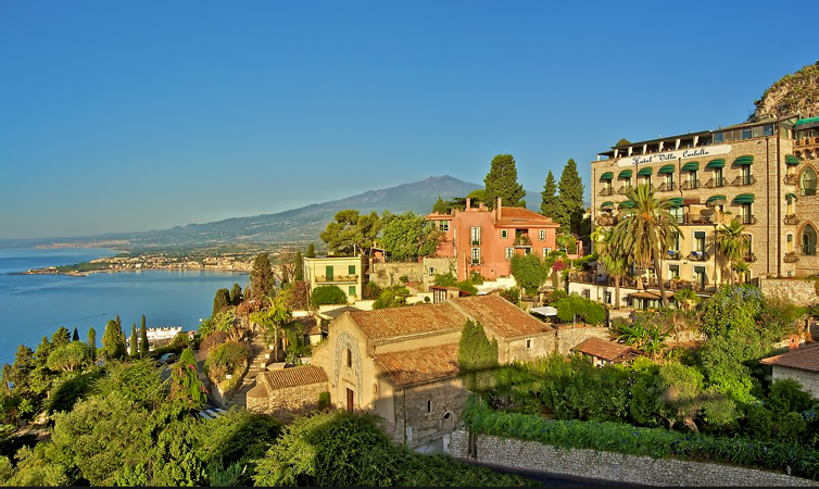 Taormina:Hotel Villa Carlotta