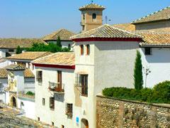 Granada:Hotel Santa Isabel la Real