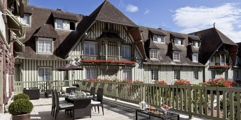 Deauville:Hotel Normandy