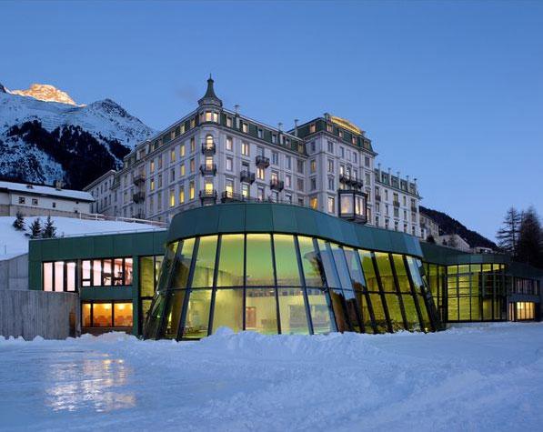 Pontresina (St. Moritz):Grand Hotel Kronenhof