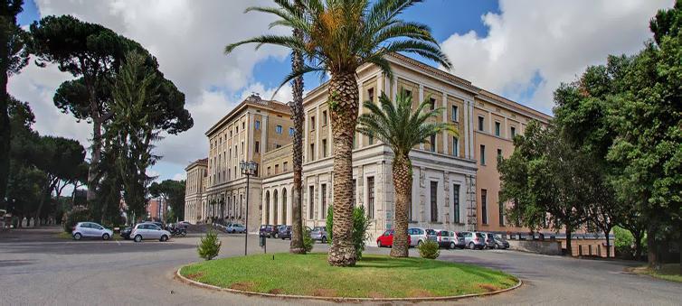 The Church Palace Hotel Via Aurelia