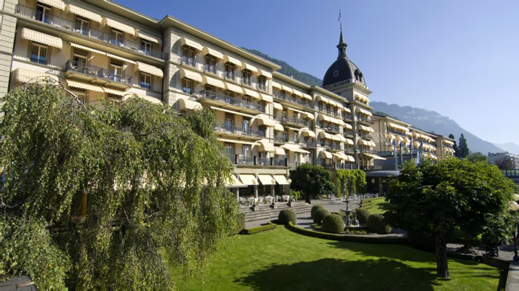 Interlaken:Victoria Jungfrau Grand Hotel & Spa
